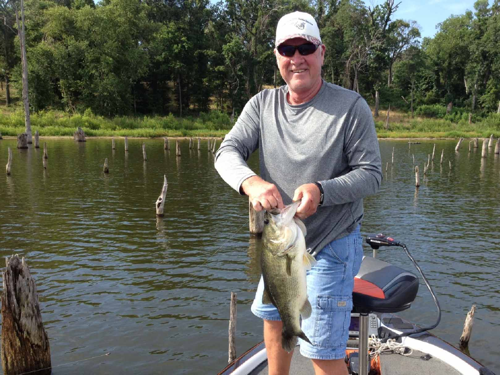 There are 8 steps to catching more fish.
