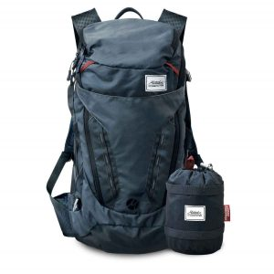 A lightweight backpack makes for easy hiking.