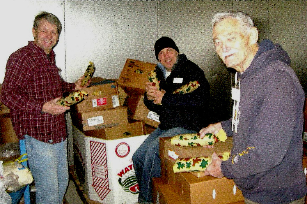 Venison donation feeds the hungry.