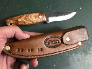 The Haswell survival knife is special.