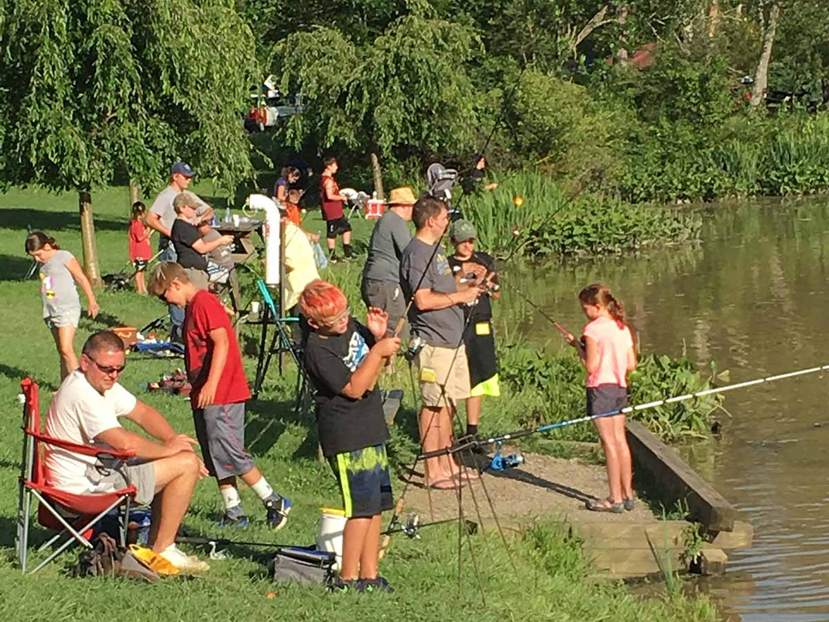 Mentored catfish programs target urban children.