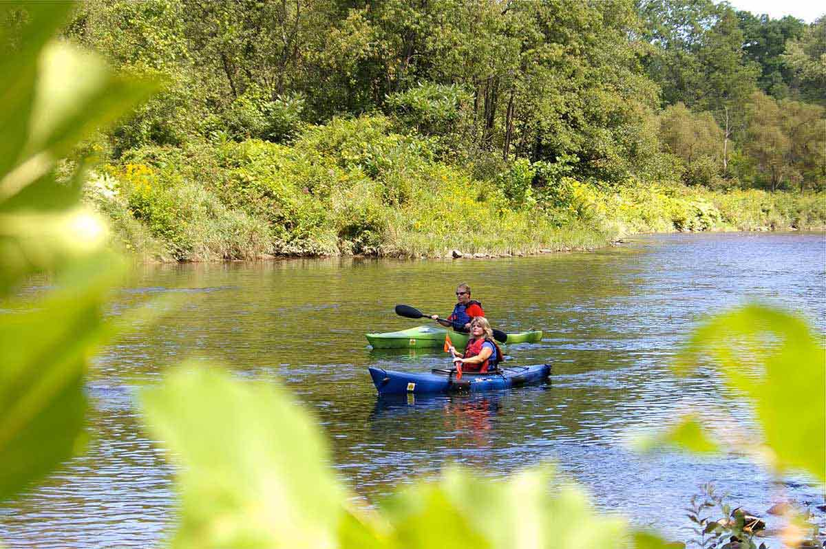 Wild and Scenic Rivers are great places for canoes and kayaks.