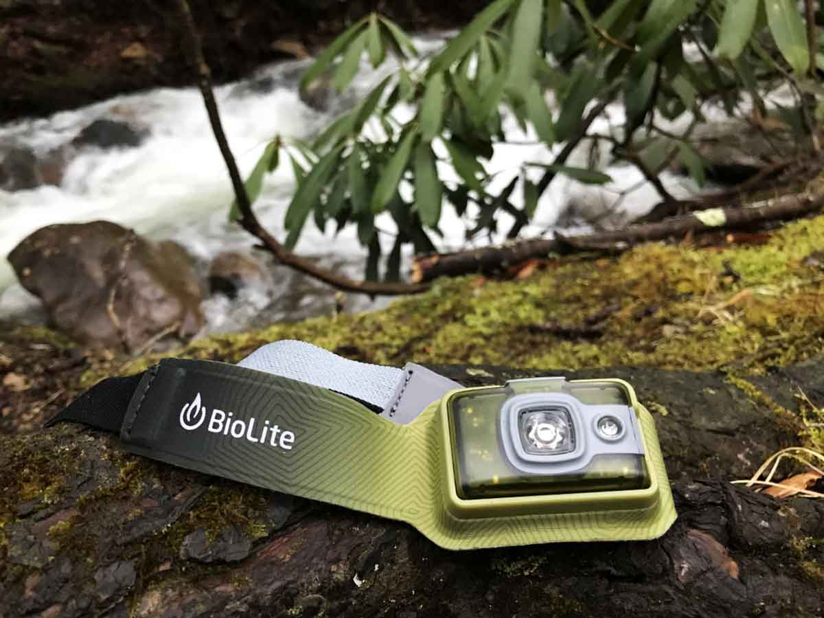 The BioLite HeadLamp 200 is a nice product.