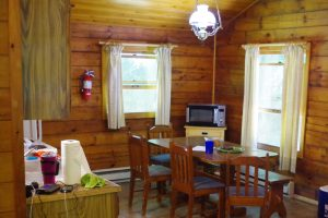 Cabin camping brings some creature comforts.