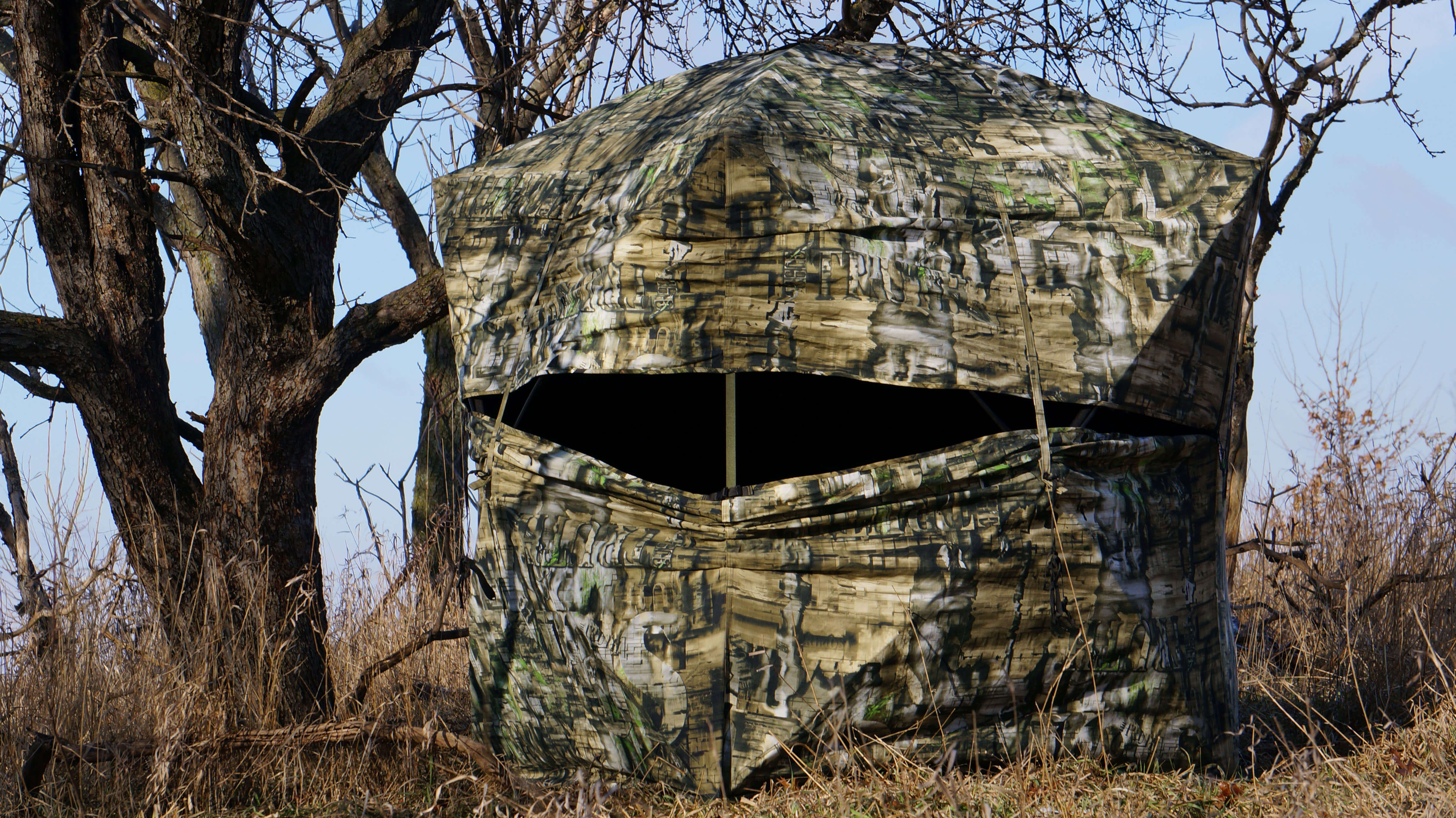 Ground blinds the difference between success and failure for hunters