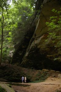 Hocking Hills can be rugged.