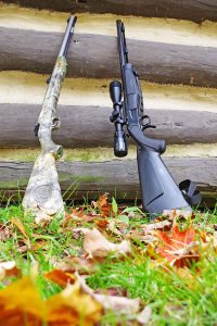 Inline muzzleloaders are popular.