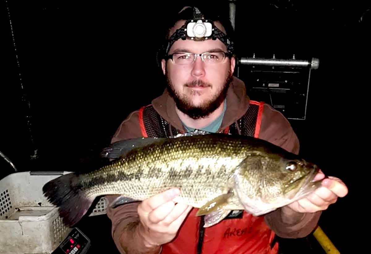 Largemouths are fun to catch.