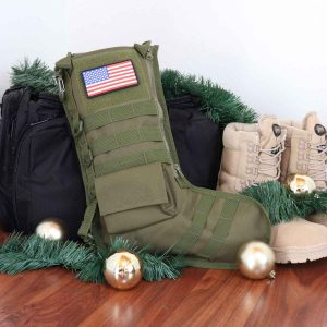 The orange army might appreciate a tactical stocking.