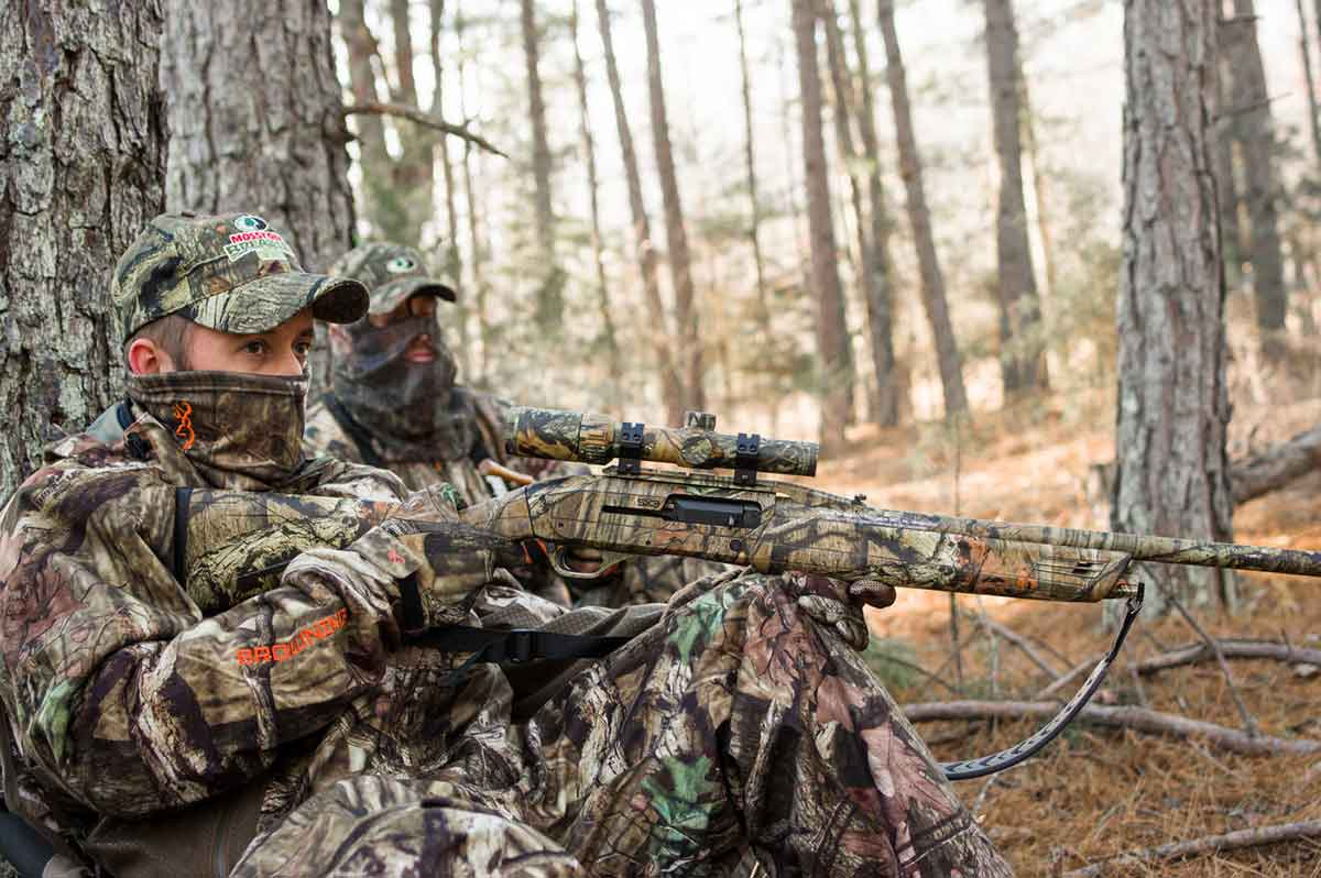 Orange is not appealing to turkey hunters.