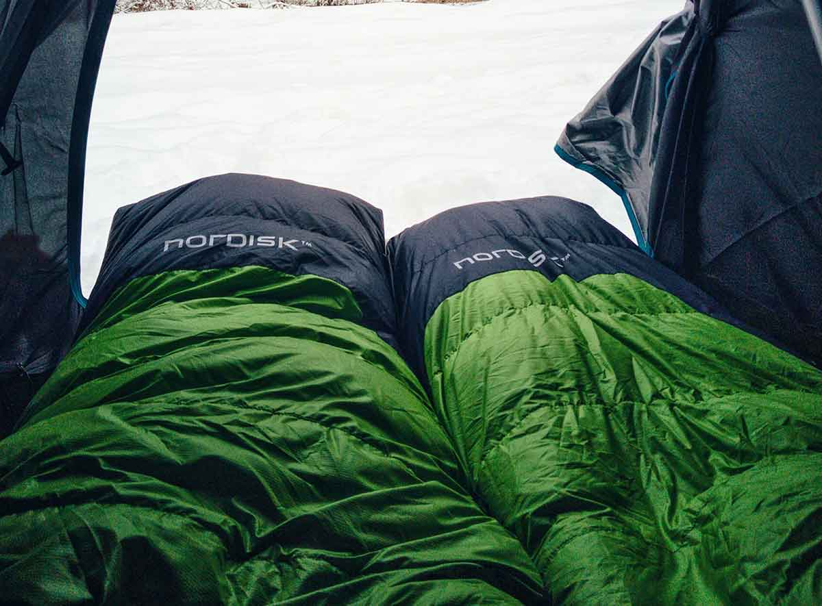 A sleeping bag is critical to a good night's sleep.