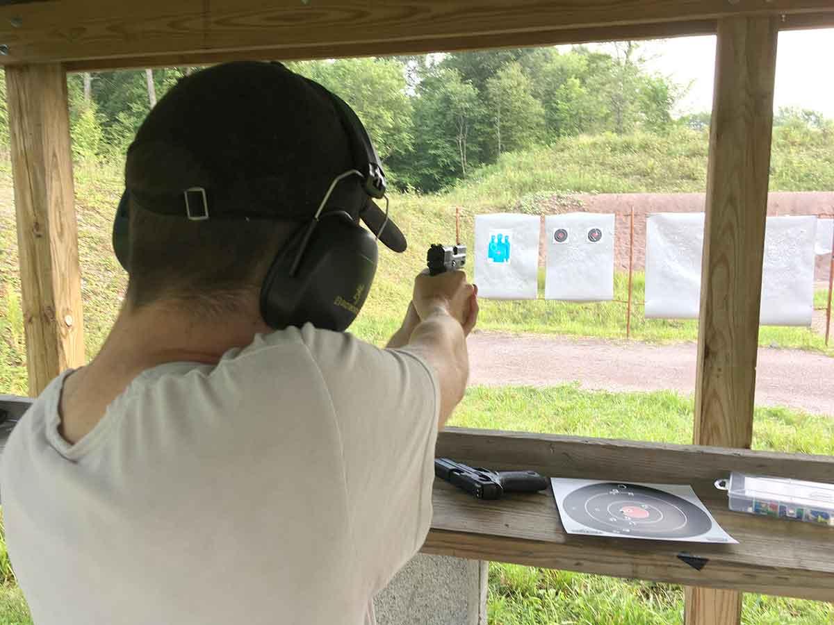 Target shooting is fun.