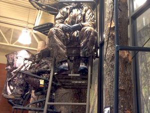 Tree stands are increasingly popular among hunters.